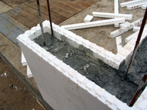 Стеновая опалубка из пенополистирола