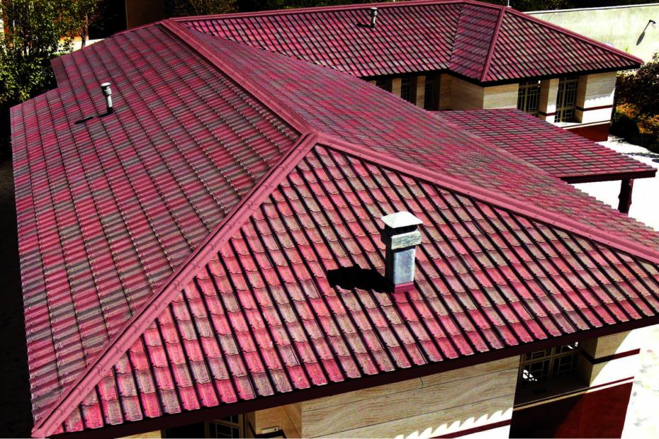 ондулин для перекрытия крыши